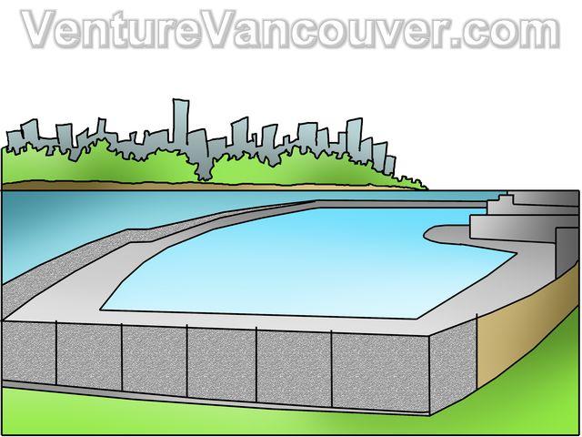 Swimming Pool Cartoon