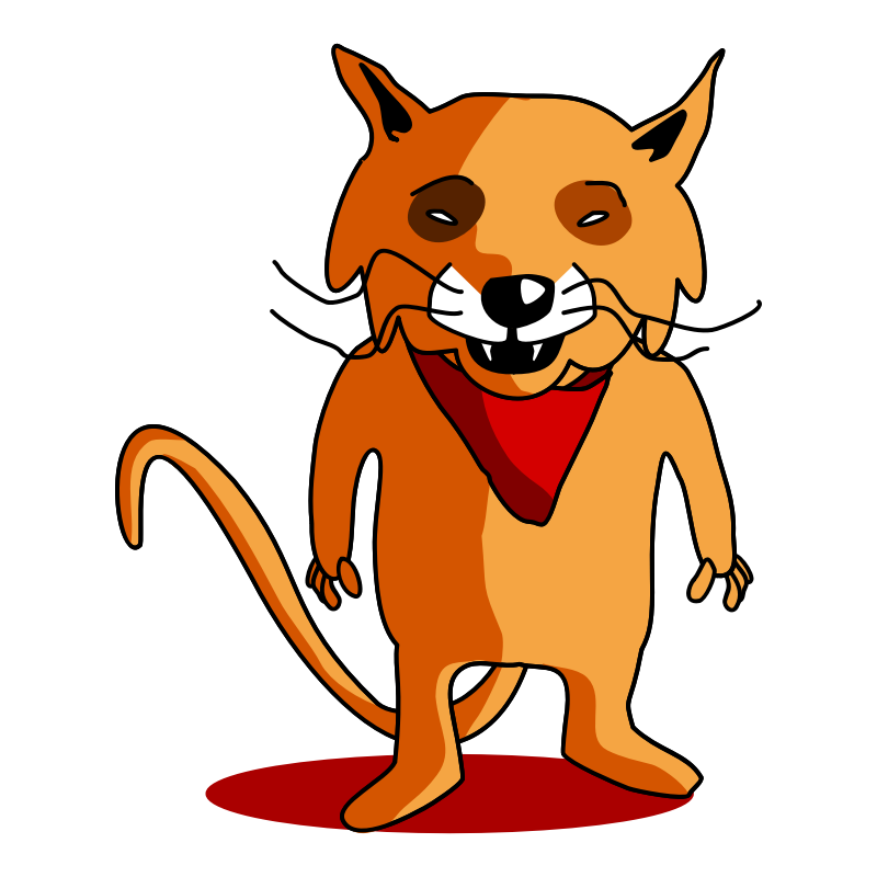 cartoon clipart of a fox - photo #39