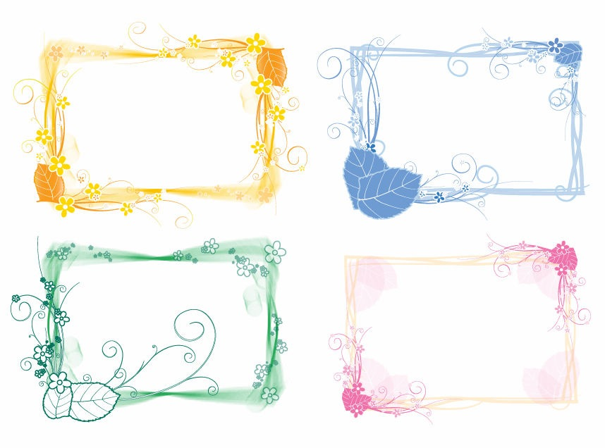 Free Floral Vector Art Cliparts Co