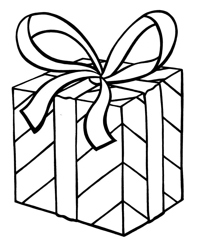 Christmas Presents Coloring Pages Images Amp Pictures