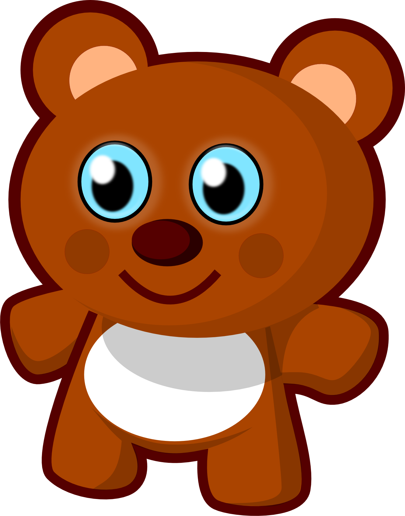 Clip Art: Cute Bear Teddy Bear Animal ... - ClipArt Best - ClipArt ...