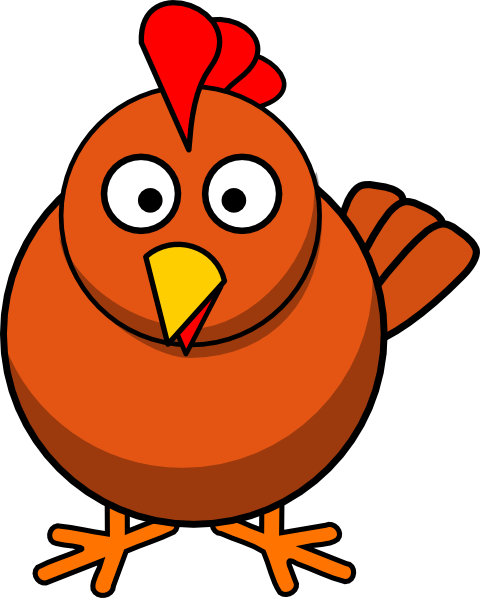 Chicken Cartoon clip art Free Vector / 4Vector