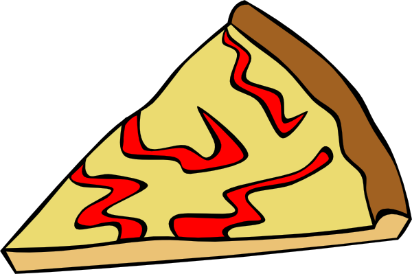 Cheese Pizza Slice clip art - vector clip art online, royalty free ...