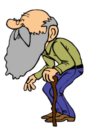 elderly people clip art clipartsco