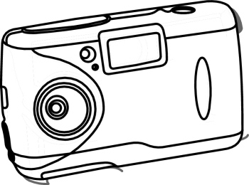 camera -Clipart Pictures