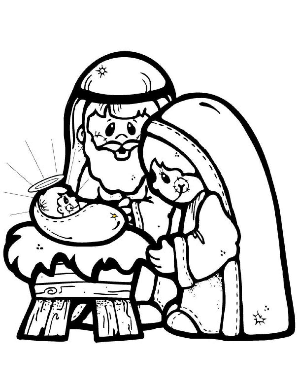 printable nativity scene coloring pages nativity scene coloring ...