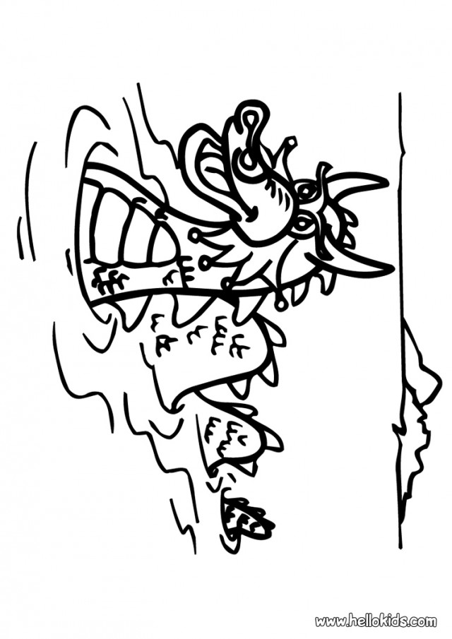 Free Scary Dragon Coloring Pages, Download Free Clip Art, Free ...   905x640