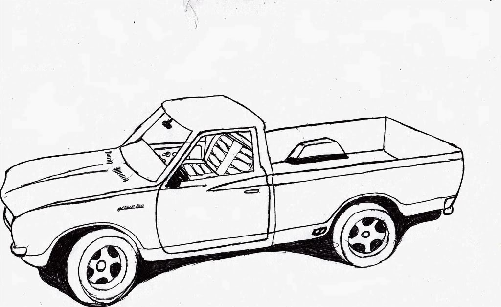 Truck Outline - Cliparts.co