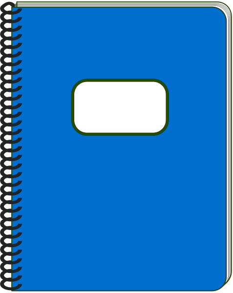 notebook page clipart - photo #17