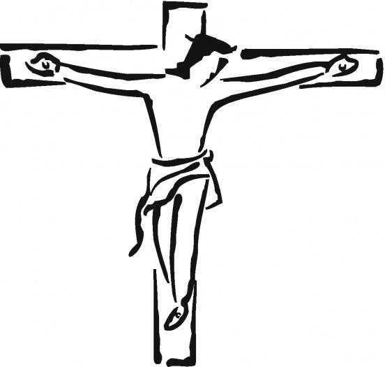 Jesus On The Cross Cartoon - Cliparts.co