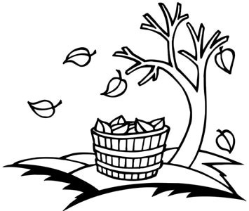 Thanksgiving Clipart Black And White | Clipart Panda - Free ...