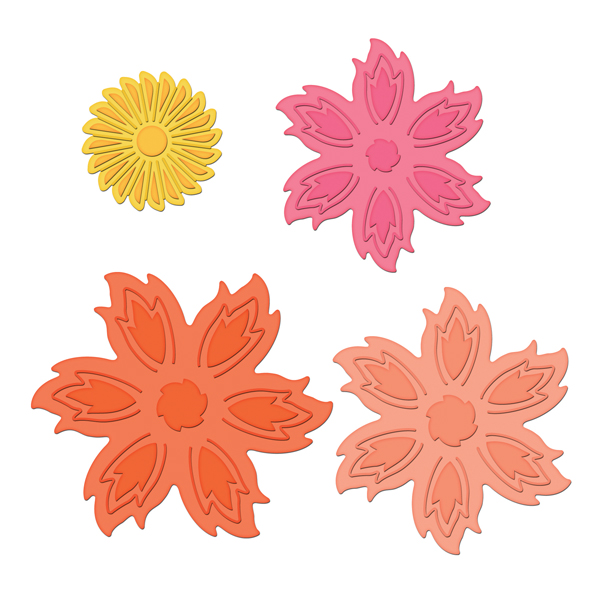 Цветы для скрапа шаблоны
