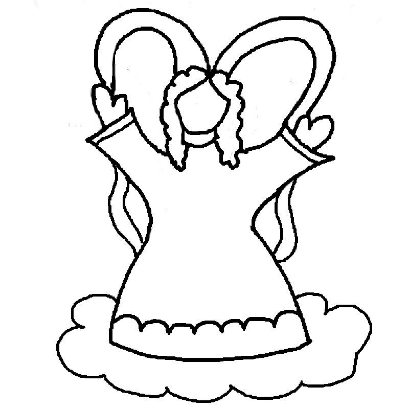 Angel Coloring Pages,Beautiful Angel Printables, Angel ...