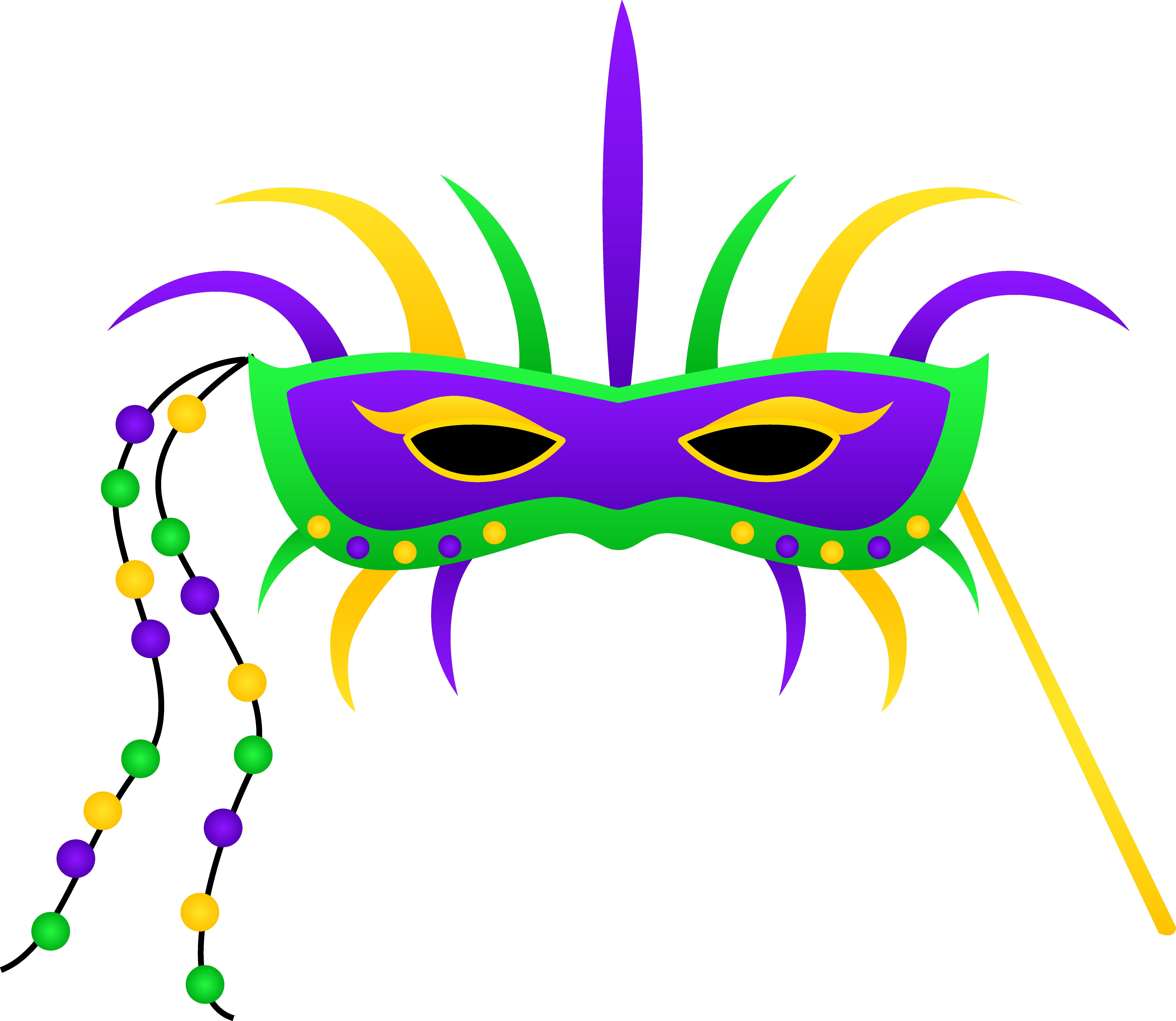Mardi Gras Clip Art Borders | Clipart Panda - Free Clipart Images