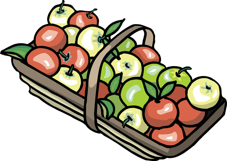 cute apple basket clipart clipart panda free clipart