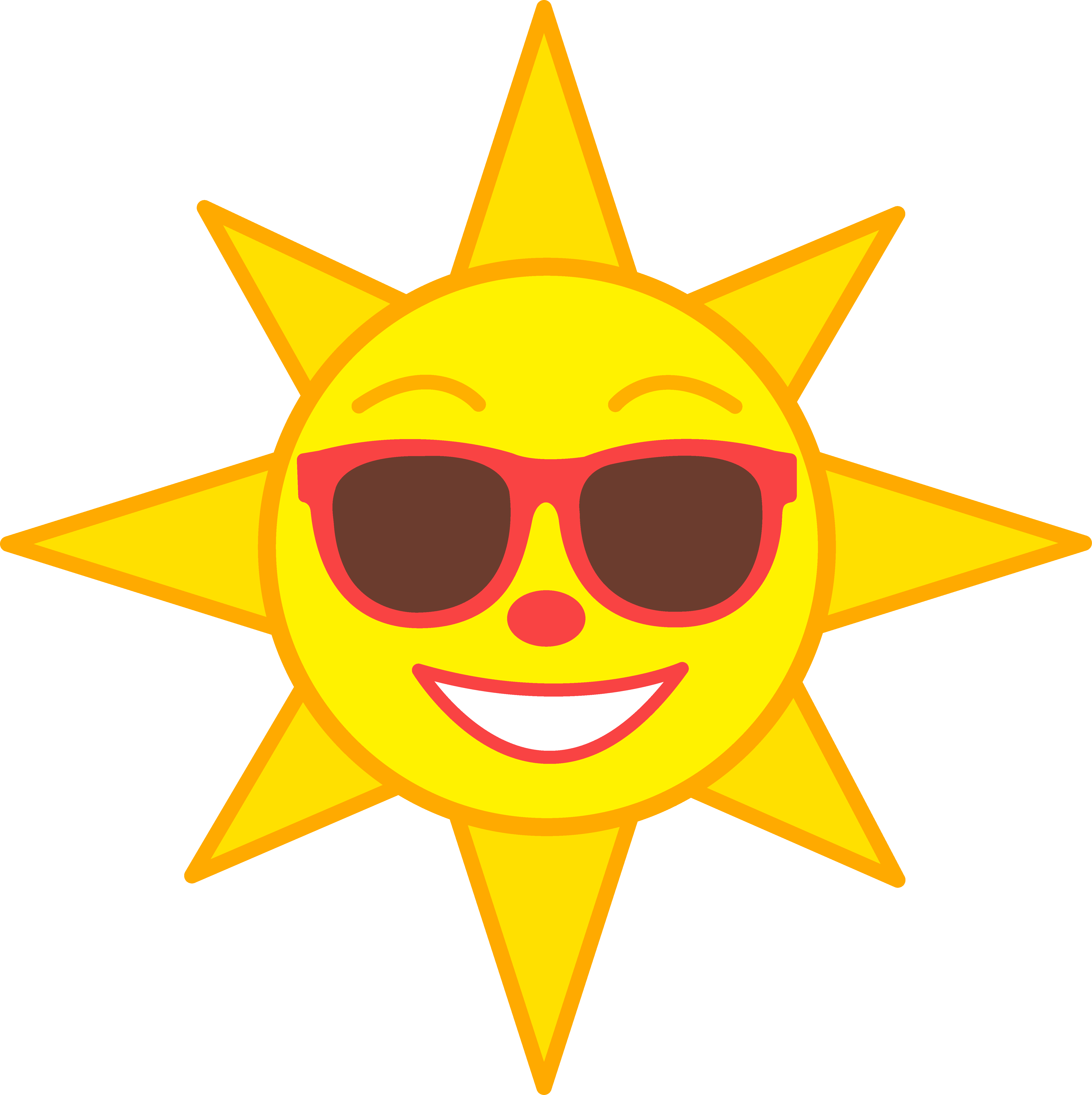 Happy Sun Clipart | Clipart Panda - Free Clipart Images