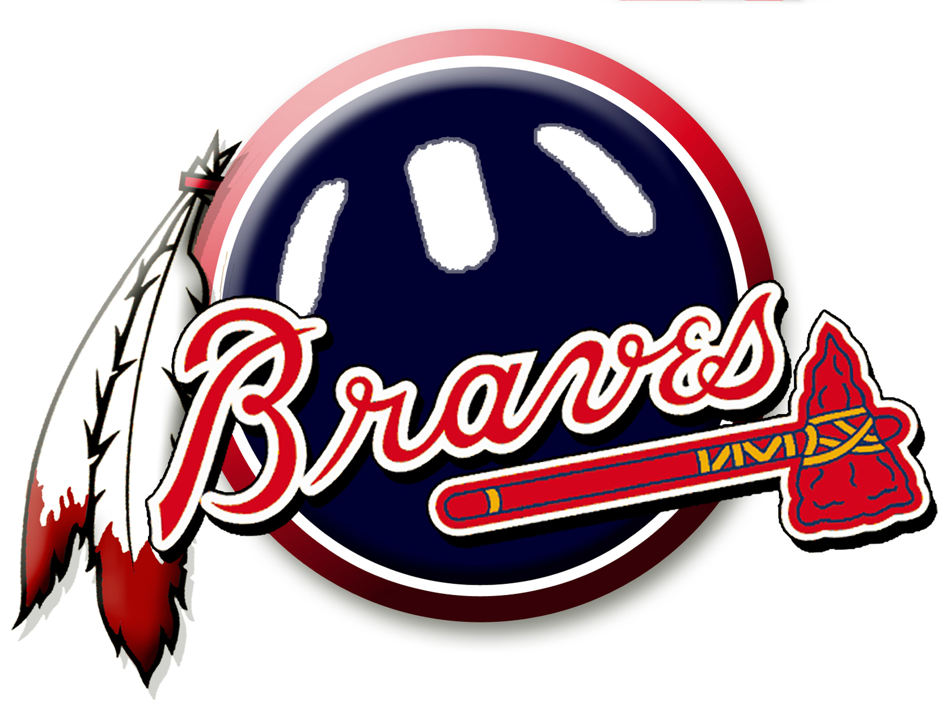 Atlanta Braves Logo 1920x1440 wallpaper