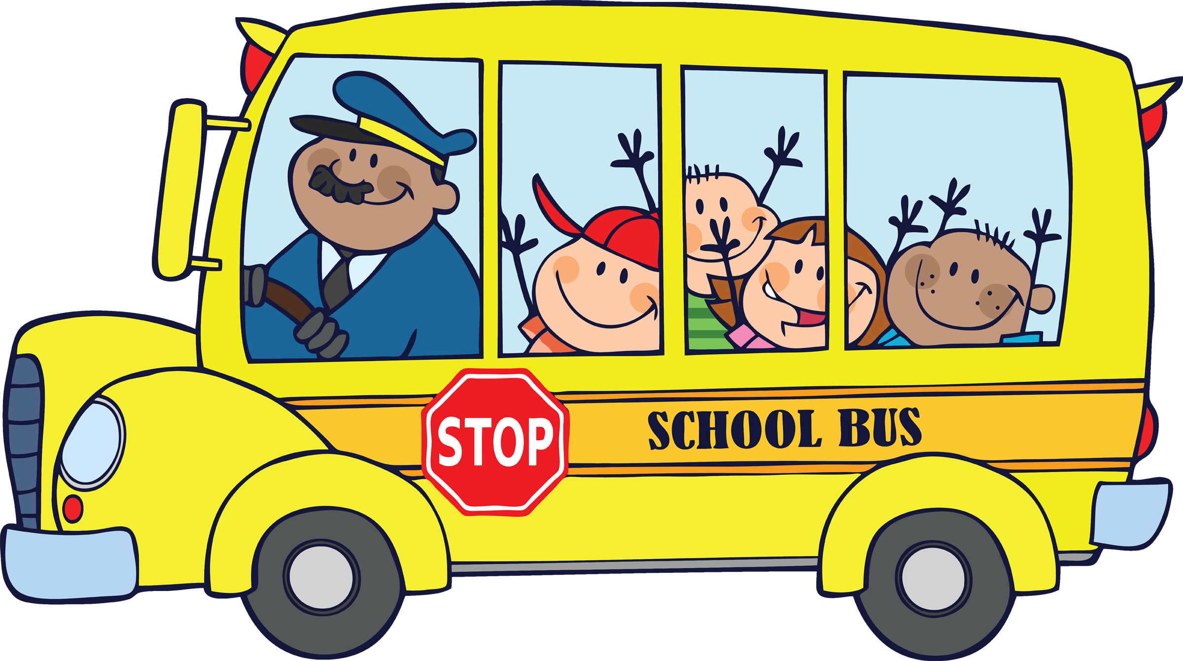 Free Clipart School Bus Driver