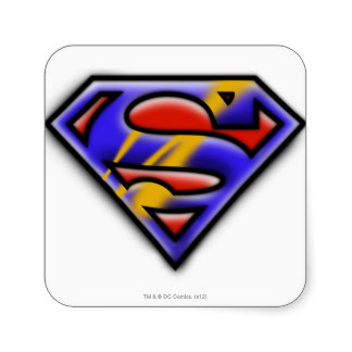 Superman Logo Stickers, Superman Logo Sticker Designs