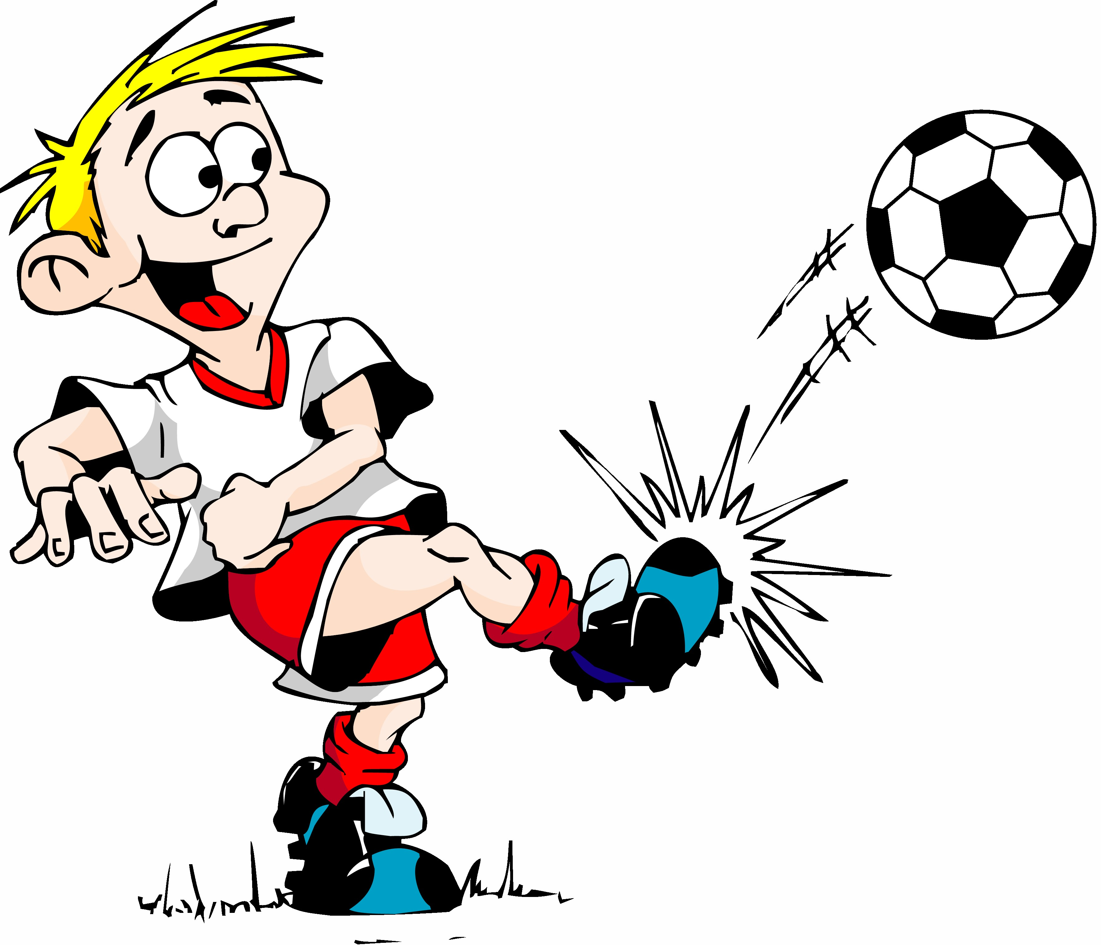 Cartoon Soccer Pictures - Cliparts.co