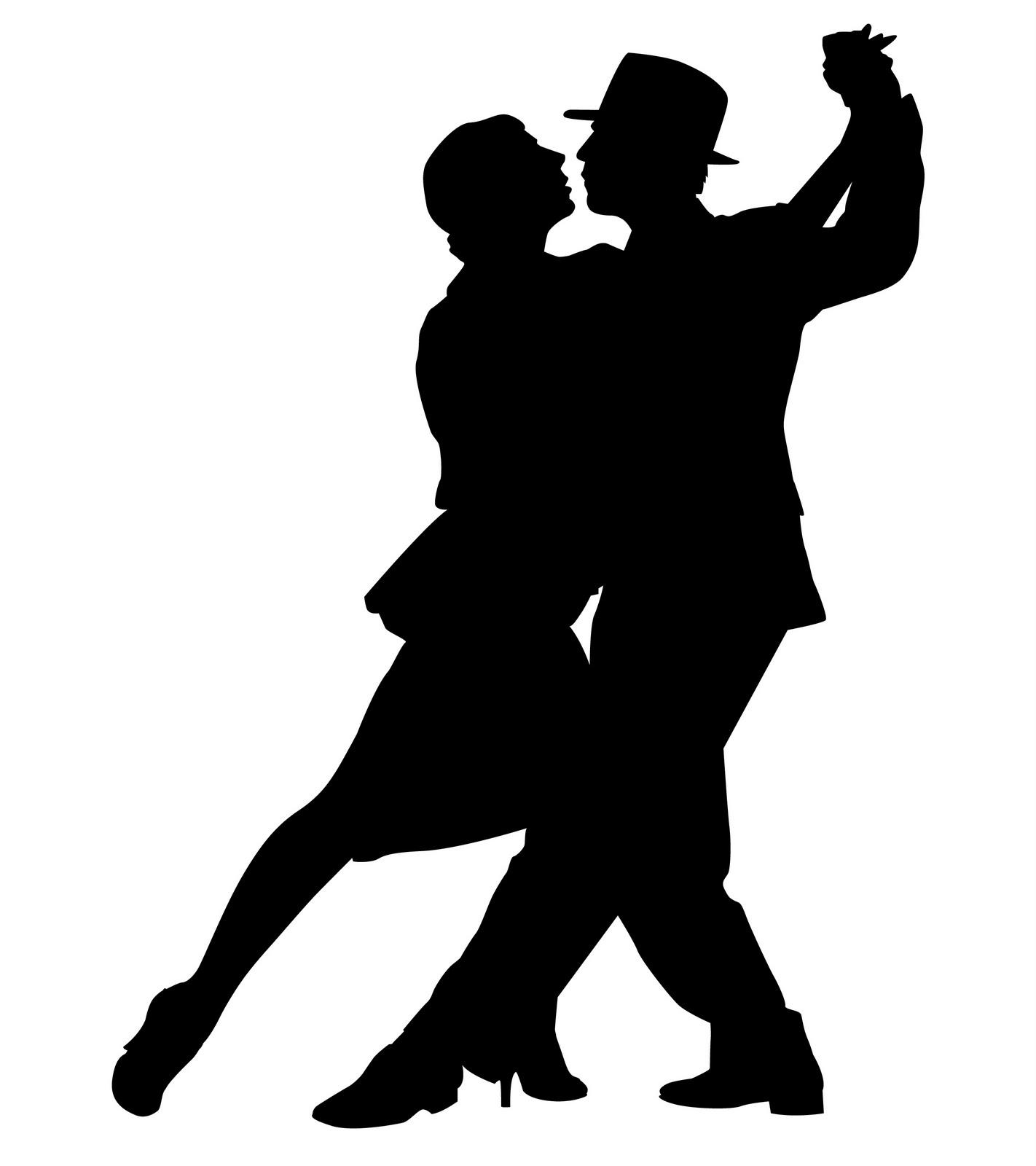 Ballroom Dancing Silhouette Vector Pix For  Ballroom Dancers