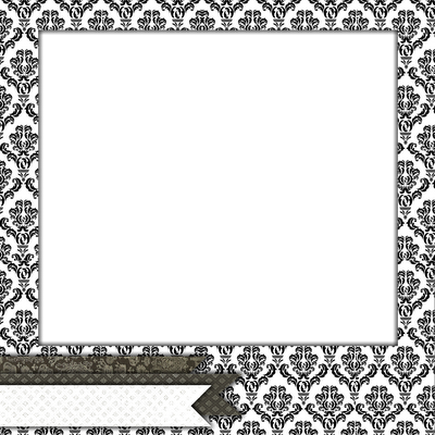 Damask Border Clip Art - Cliparts.co