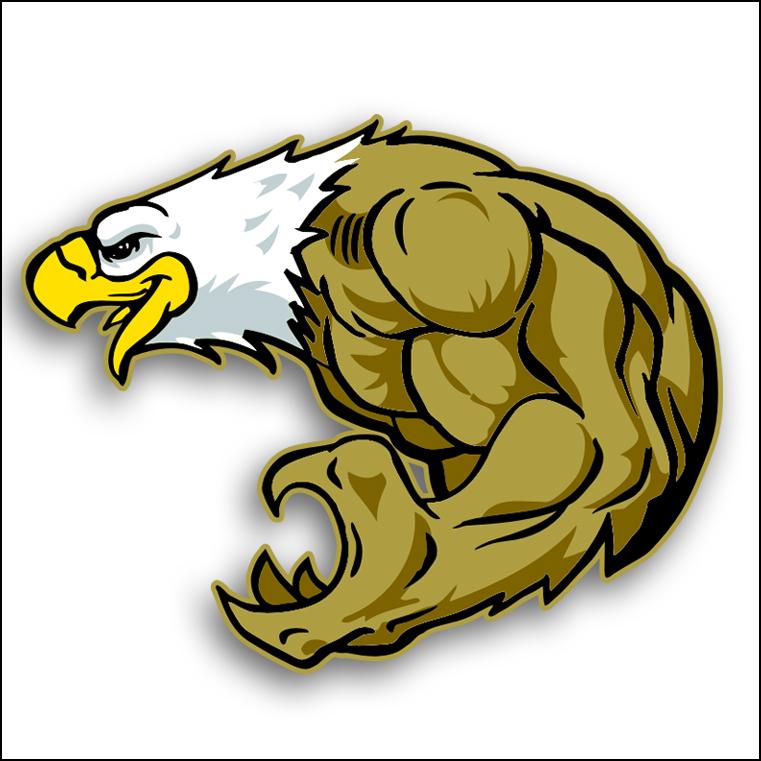clip art soaring eagle - photo #43