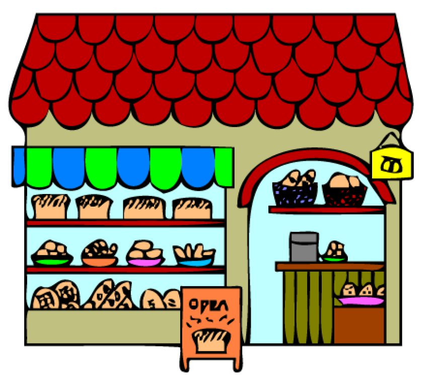 Picture Of A Bakery - Cliparts.co