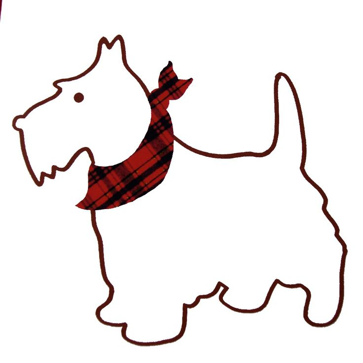 Clipart | Scottie Dogs & Westies | Pinterest