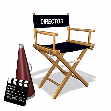 Director Chair Clipart - Cliparts.co