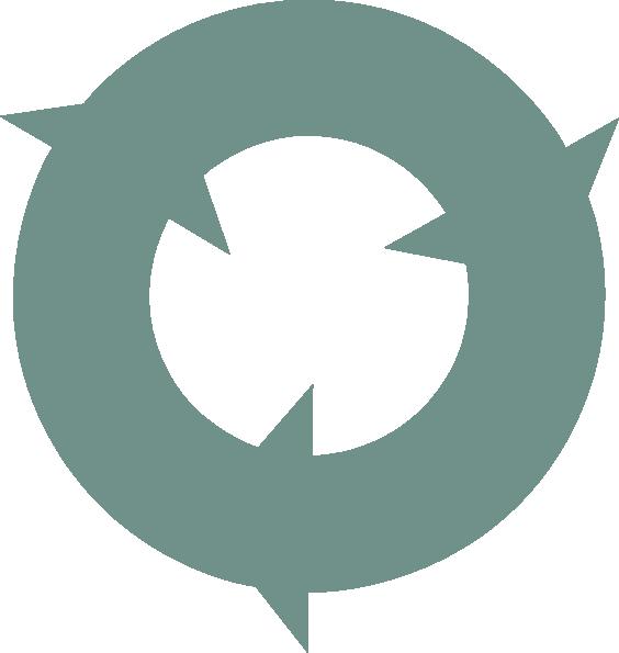 Circular Recycle Arrows clip art - vector clip art online, royalty ...