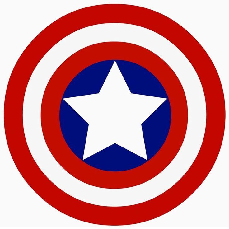 Captain America Clip - Cliparts.co Captain America Logo Clip Art