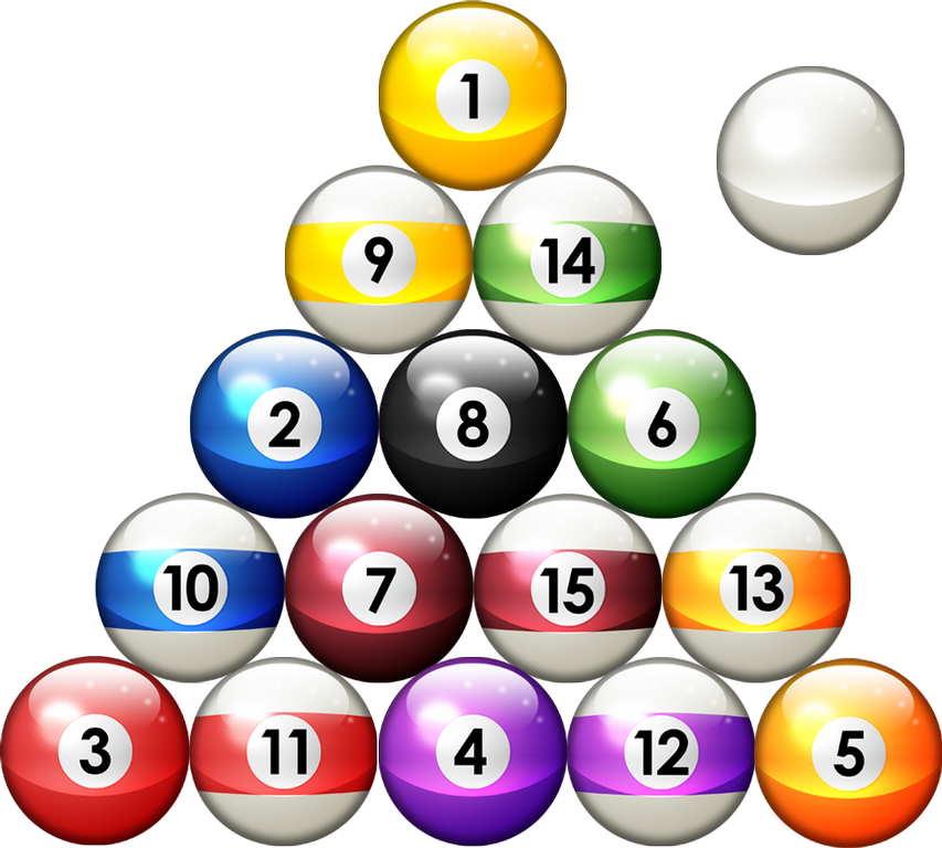 Pictures Of Pool Balls Cliparts Co