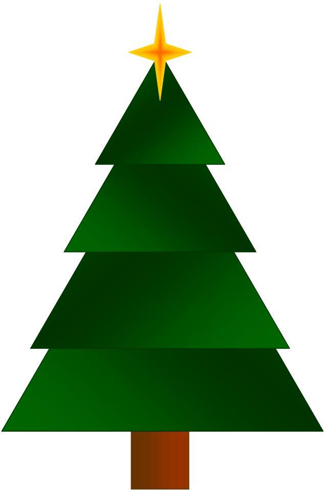 Christmas Tree Artwork Cliparts Co