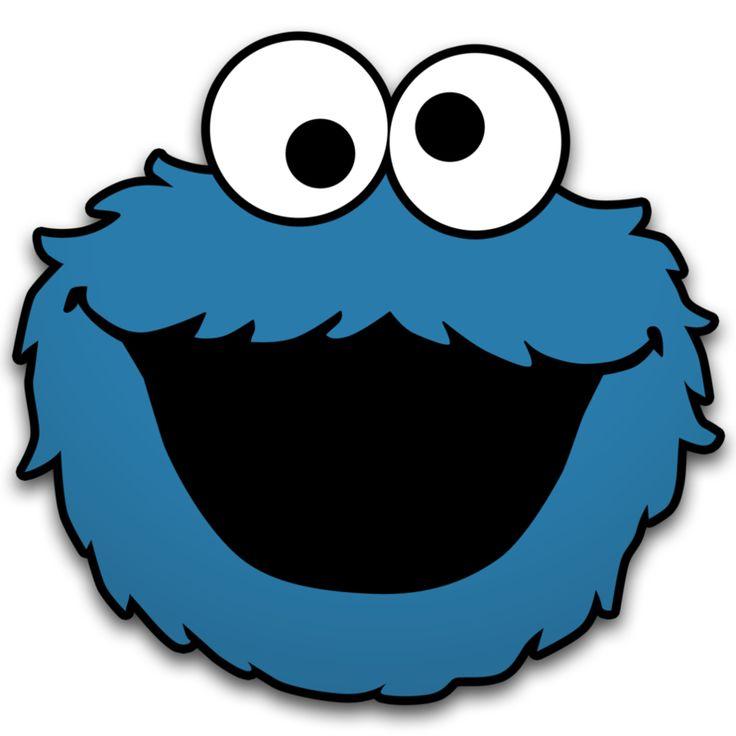 Elmo Face Clipart Cookie Monster Clip Ar...