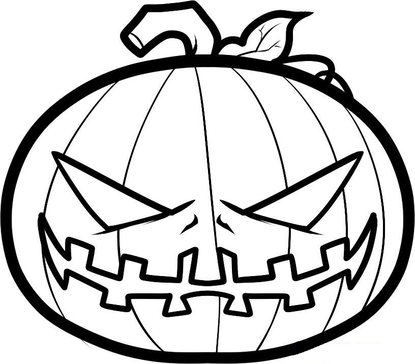 free scary monster coloring pages - photo#35
