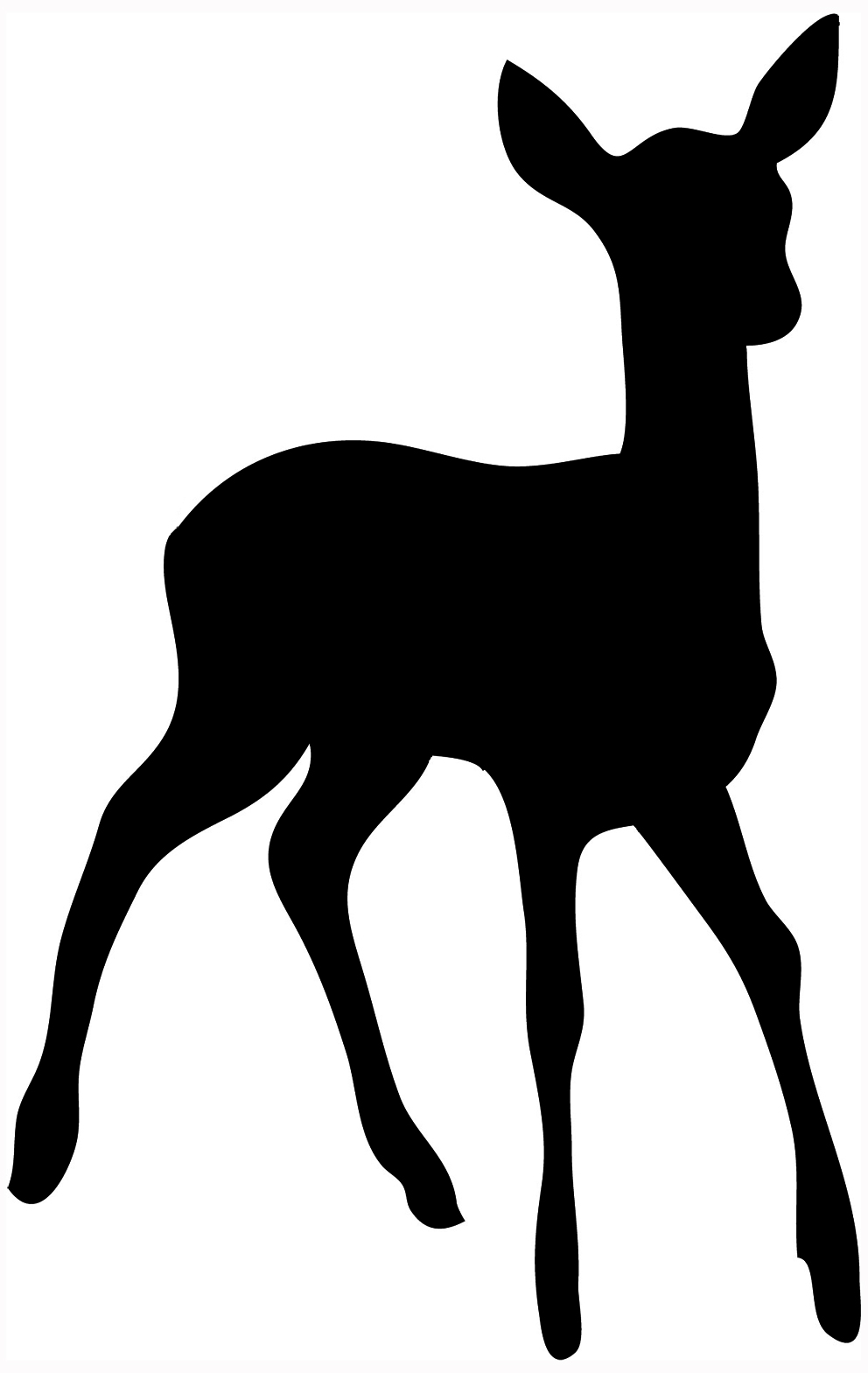 simple animal silhouette - clipart best