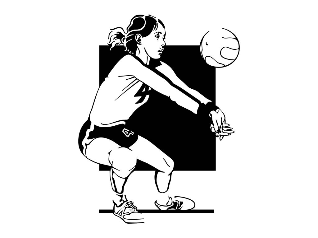 Free Volleyball Vectors