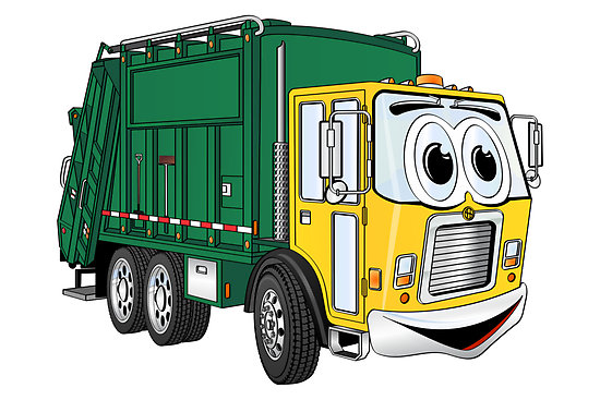 Garbage Truck Picture - Cliparts.co