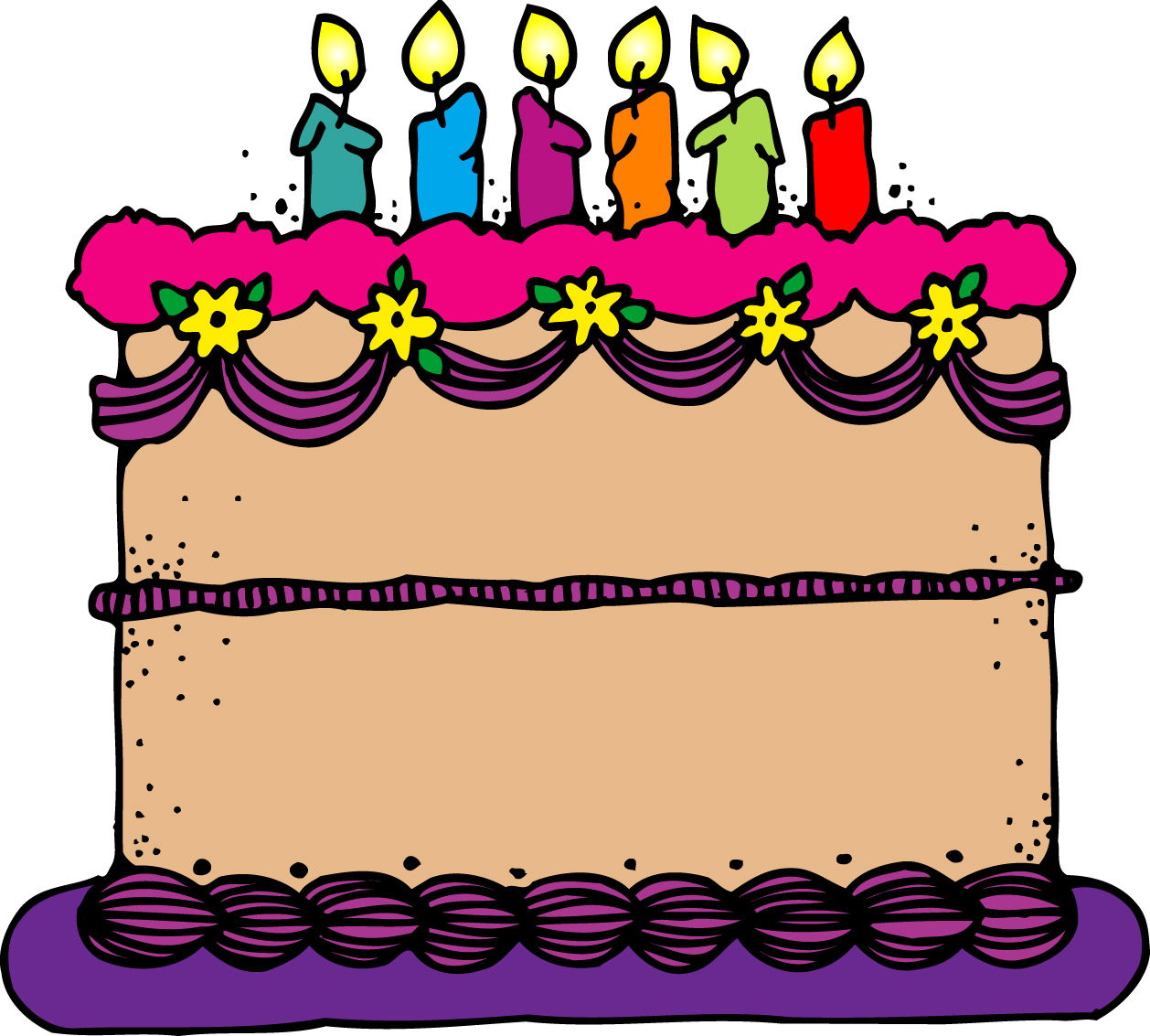 75 images of Birthday Cake Free Clip Art . You can use these free ...