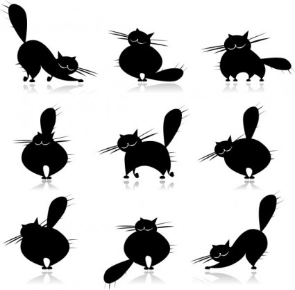 Vector black cat clip Free vector for free download (about 54 files).