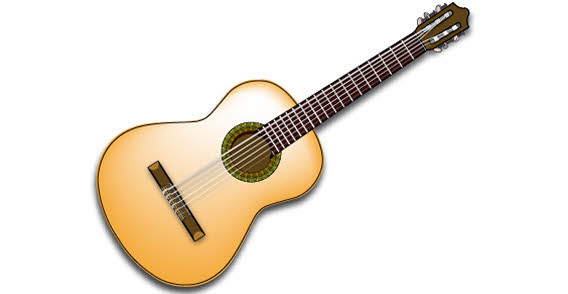 clip art guitar pictures - photo #37