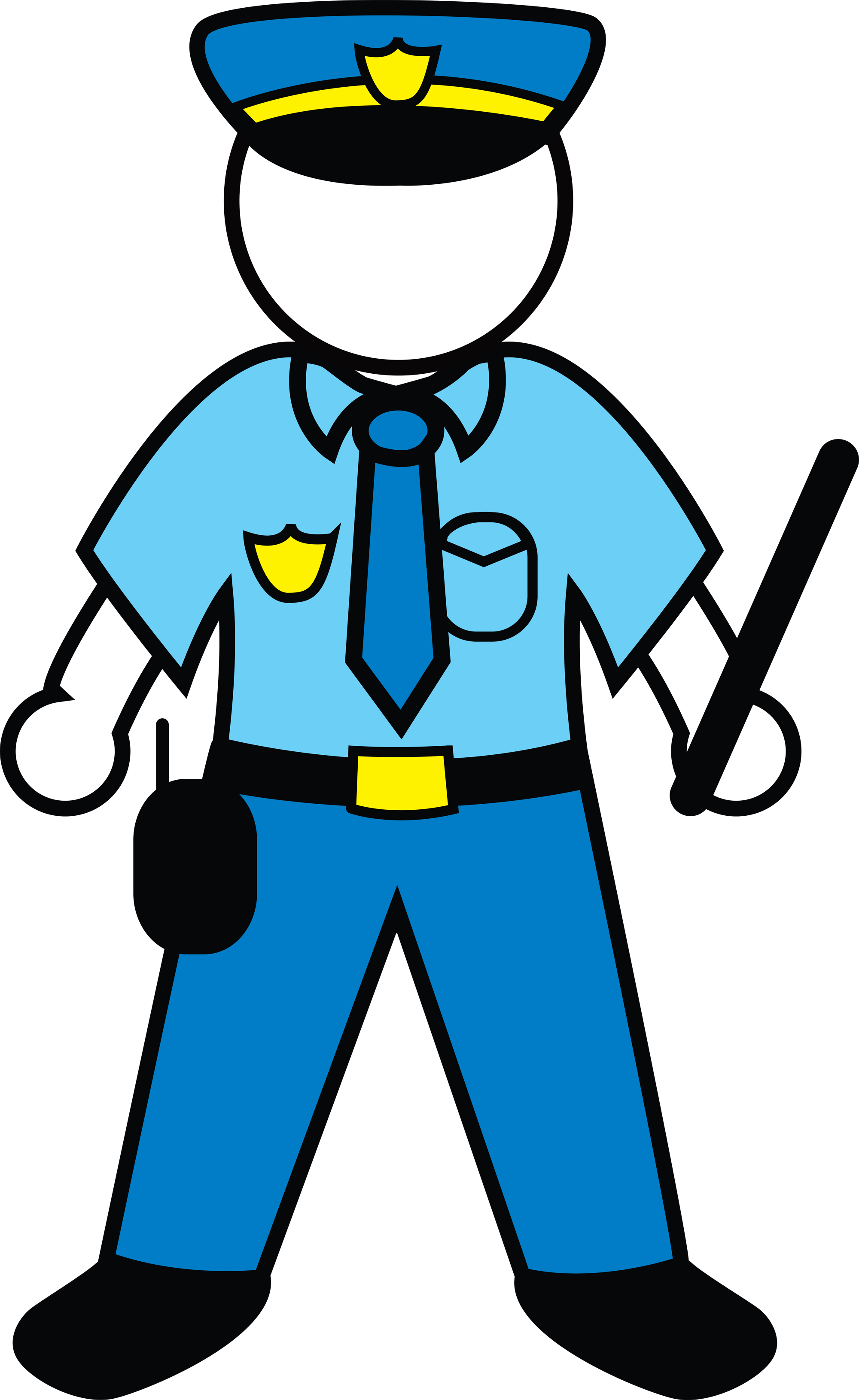 Cartoon Policeman Clip Art Car Pictures