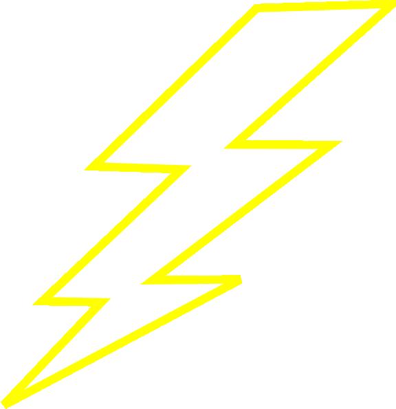 Lightning Bolt clip art - vector clip art online, royalty free ...