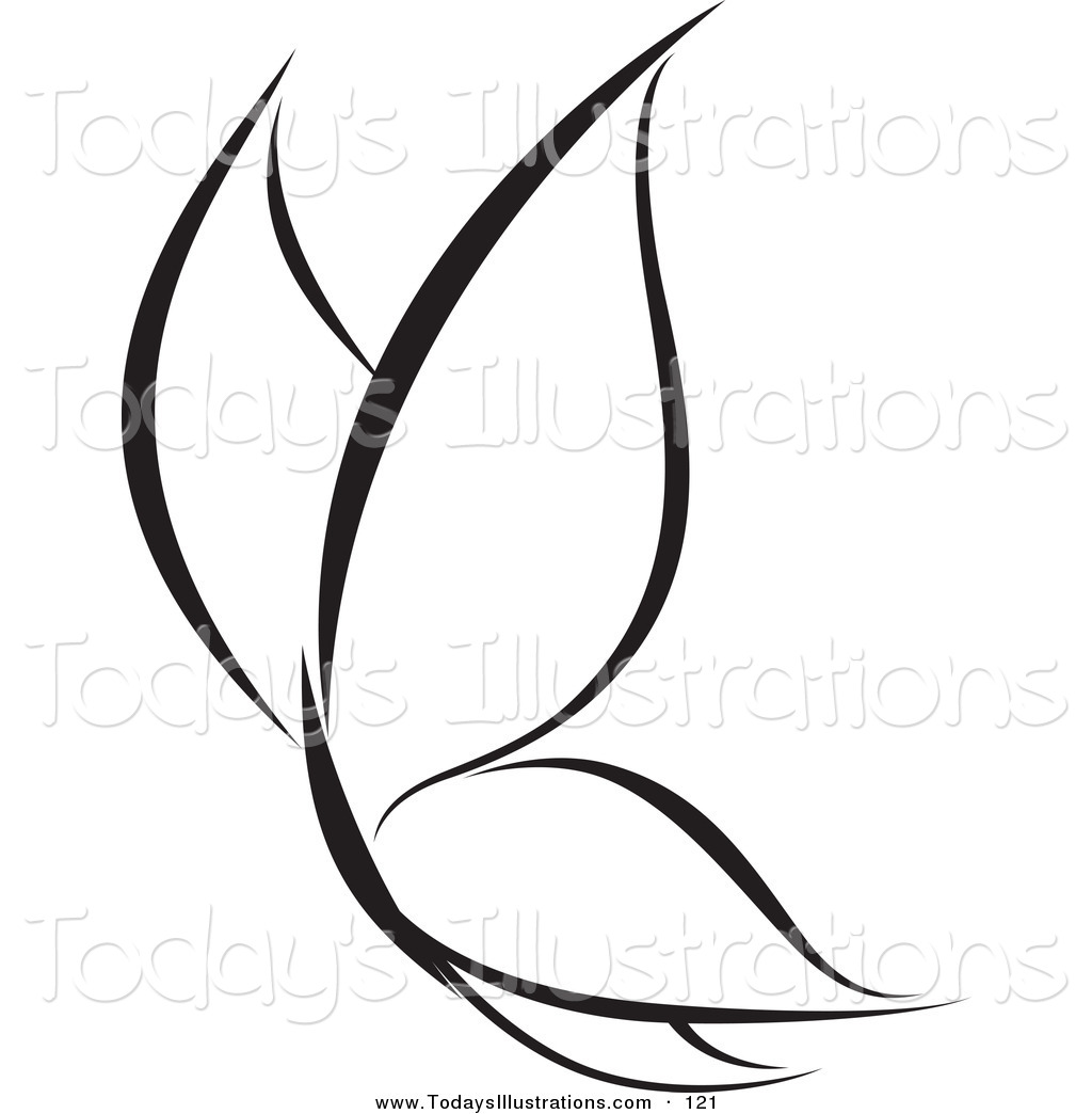 simple butterfly black and white cliparts co