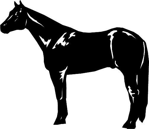Quarter Horse Clip Art...