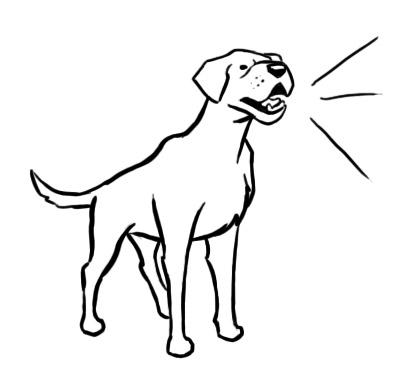 Dog Barking Clip