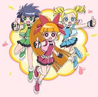 Powerpuff Girls Z Printable Coloring Pages