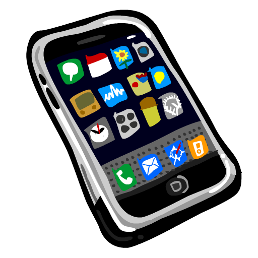 Smart Phones Clipart | Business Phone Service - Cliparts.co