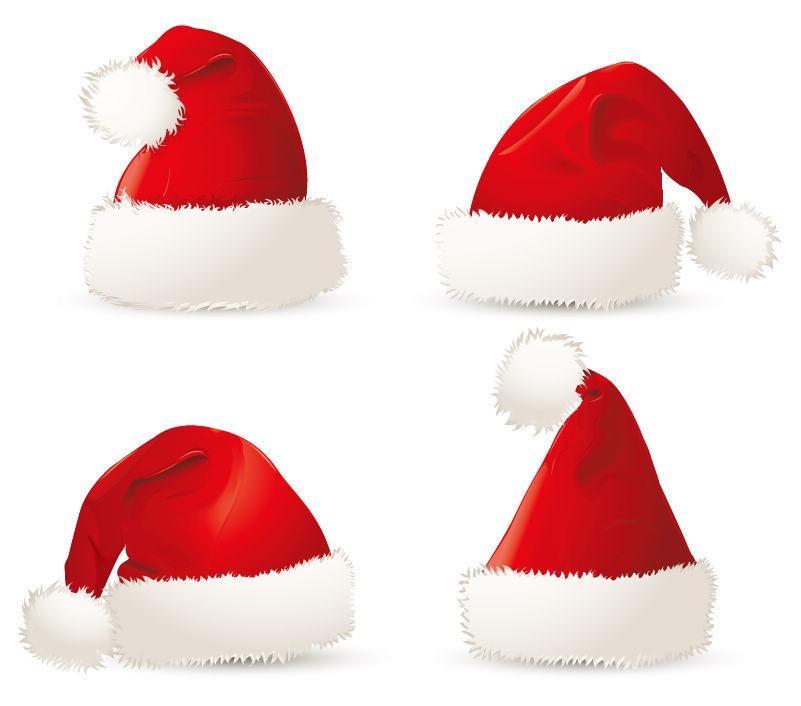 christmas santa hat clipart - photo #19